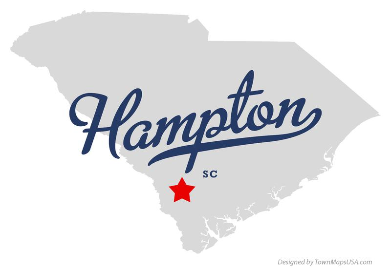 map_of_hampton_sc